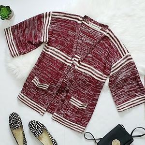 Urban Outfitters Love Madley Striped Cardigan